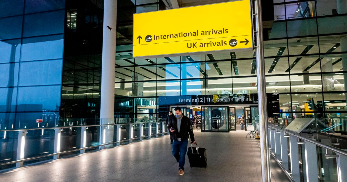 Four more countries added to Covid travel ban 'red list' by UK Government
