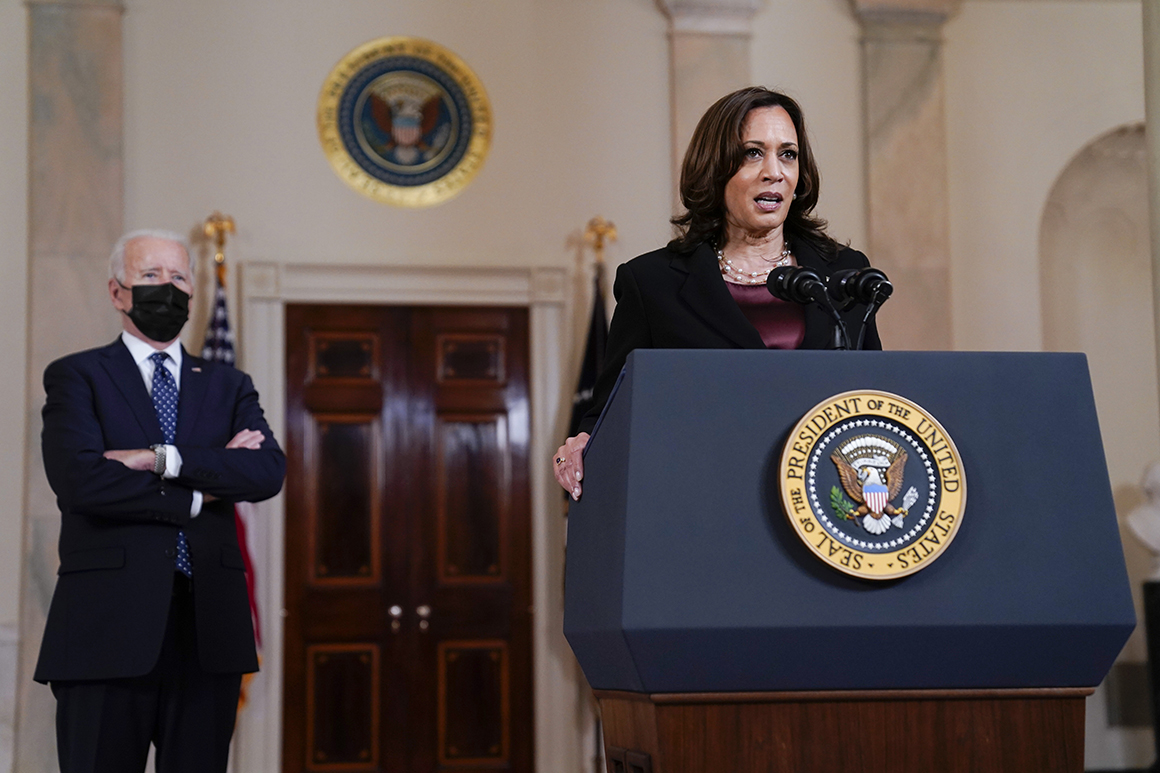 Harris says she had key role in Biden's Afghanistan withdrawal decision