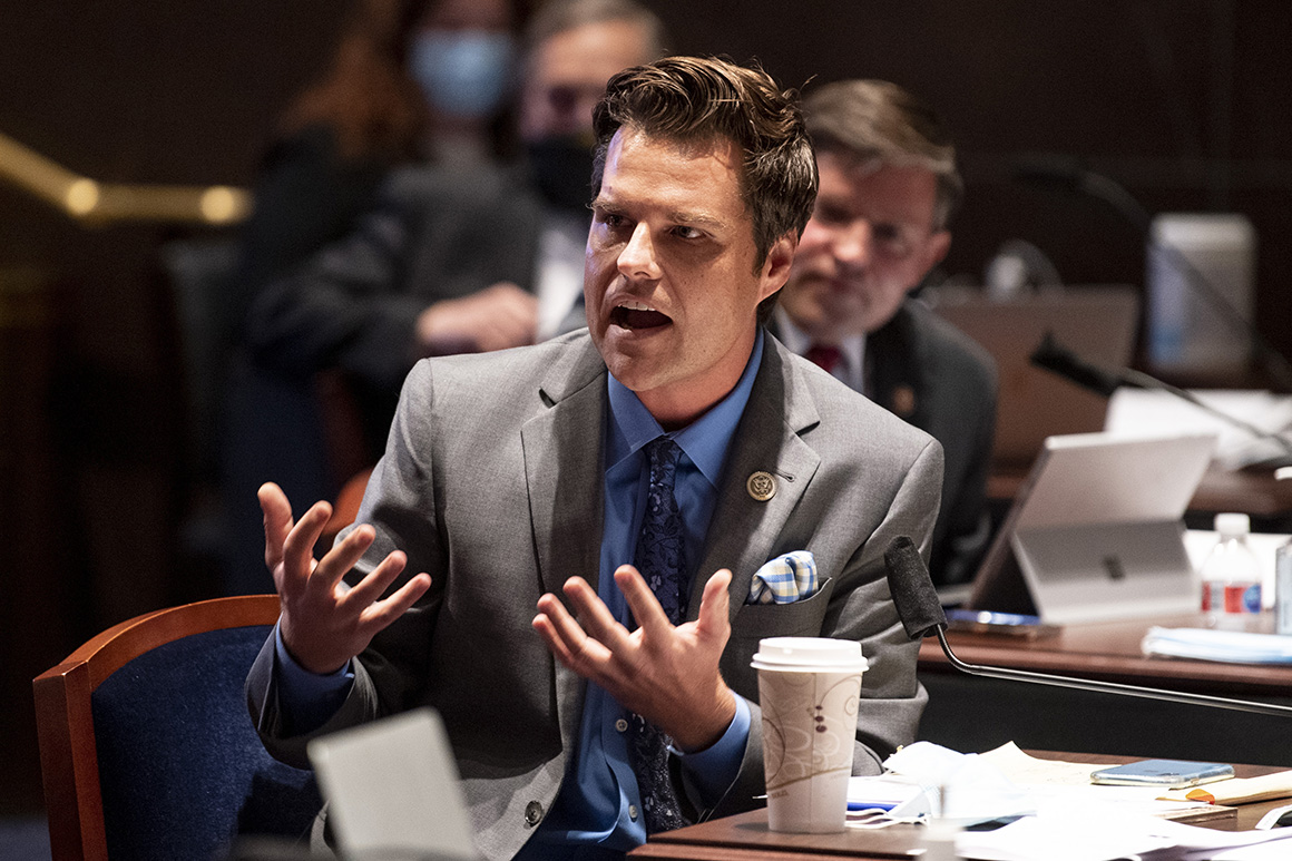 House Ethics Committee opens Gaetz investigation