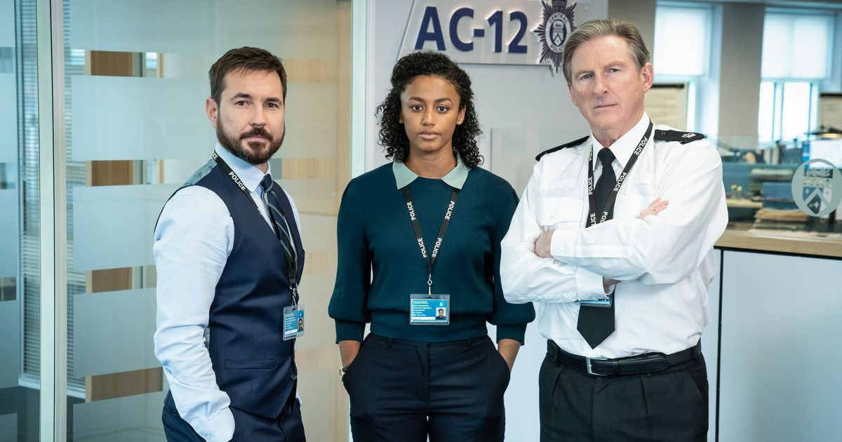 DS Steve Arnott, DC Chloe Bishop, Superintendent Ted Hastings as AC-12 investigations go deeper
