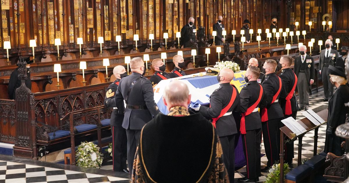 Look at the rainbow: First reading from Prince Philip's funeral
