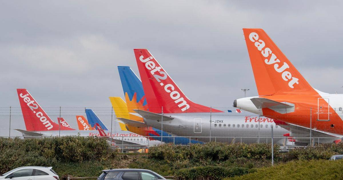 Major UK airport sees just 71 passengers in March