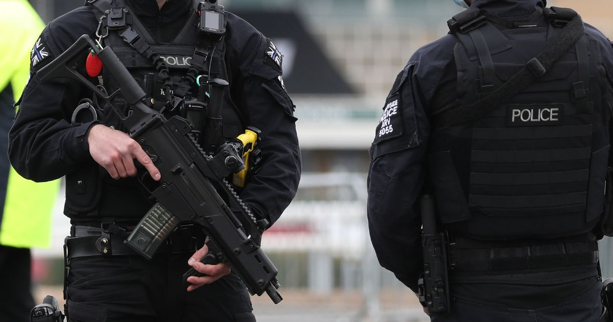 Man detained after 'shots fired' near Crawley College - updates