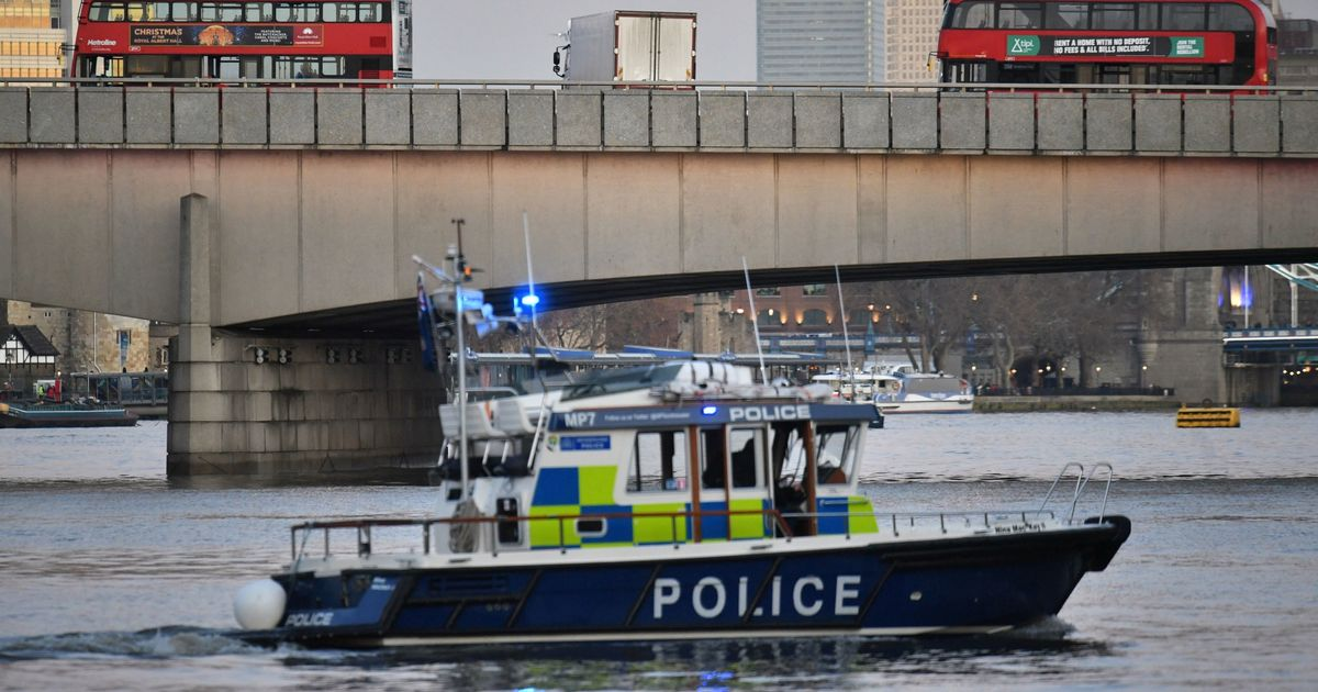Man dies after jumping into Thames to rescue woman who fell from London Bridge