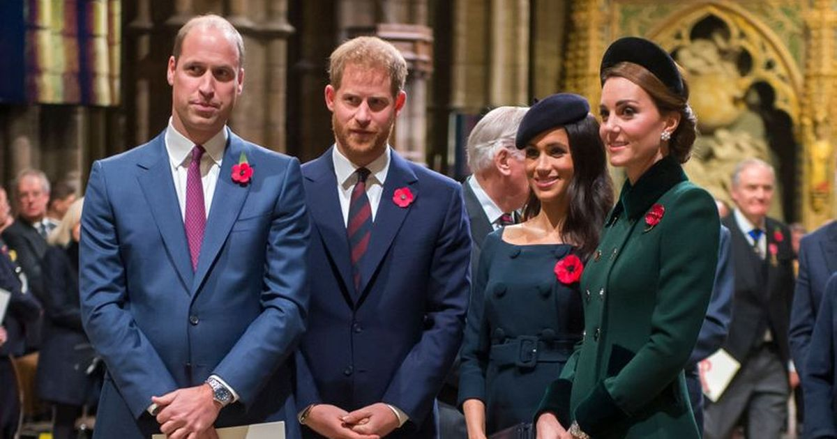 Meghan Markle and Harry send message to Kate and Wills on anniversary