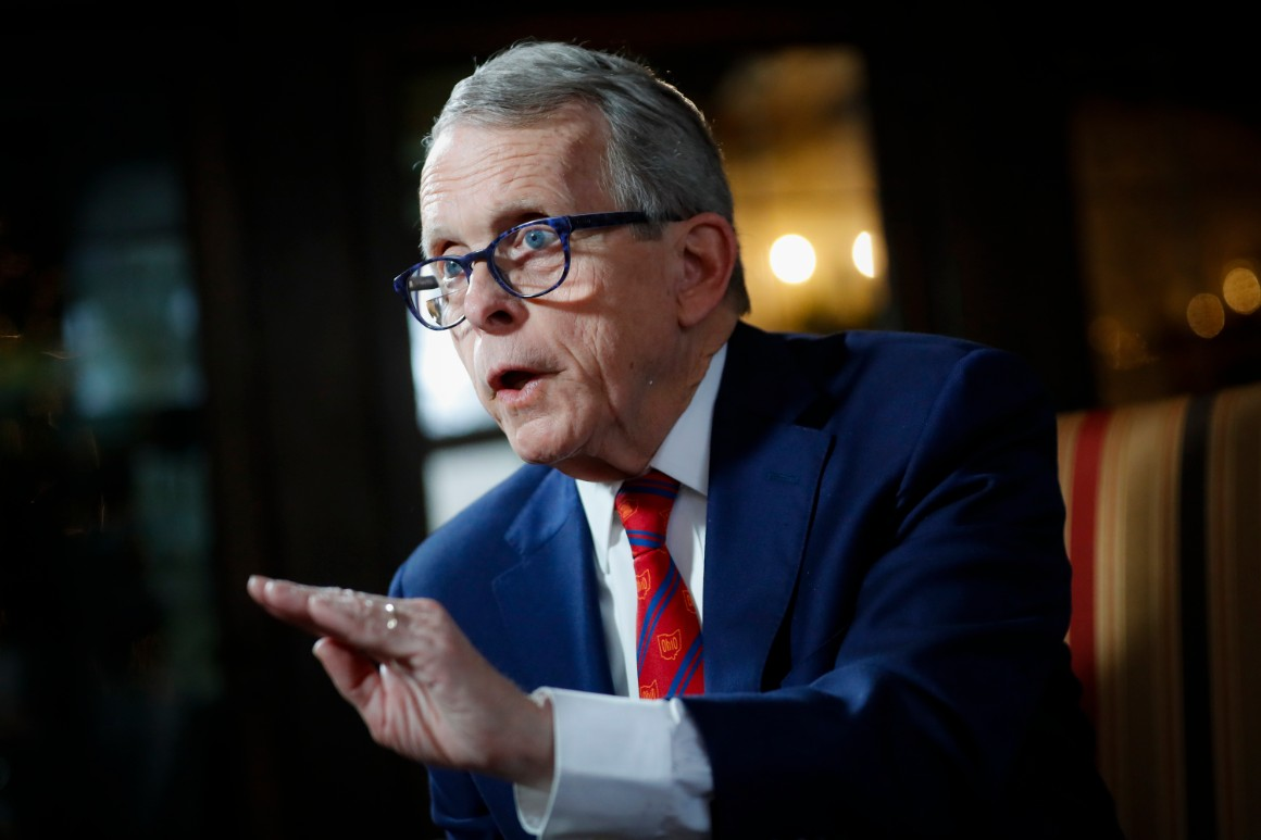 Mike DeWine says there's a 'clear pathway' for police reform
