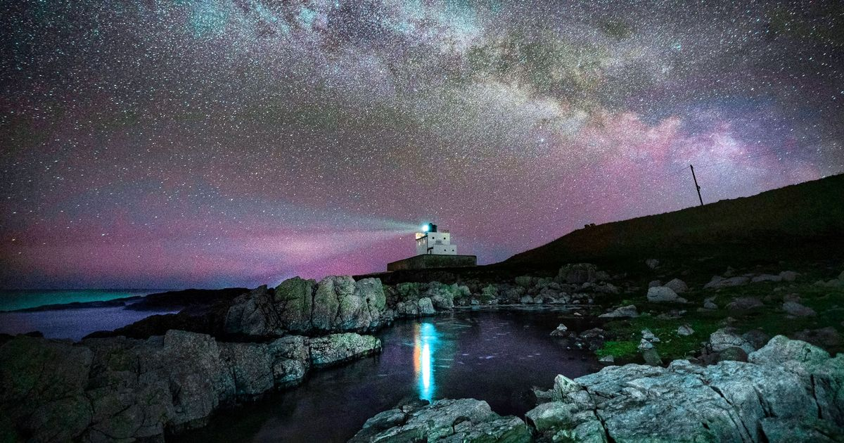 Milky Way's star-studded core visible in UK night sky