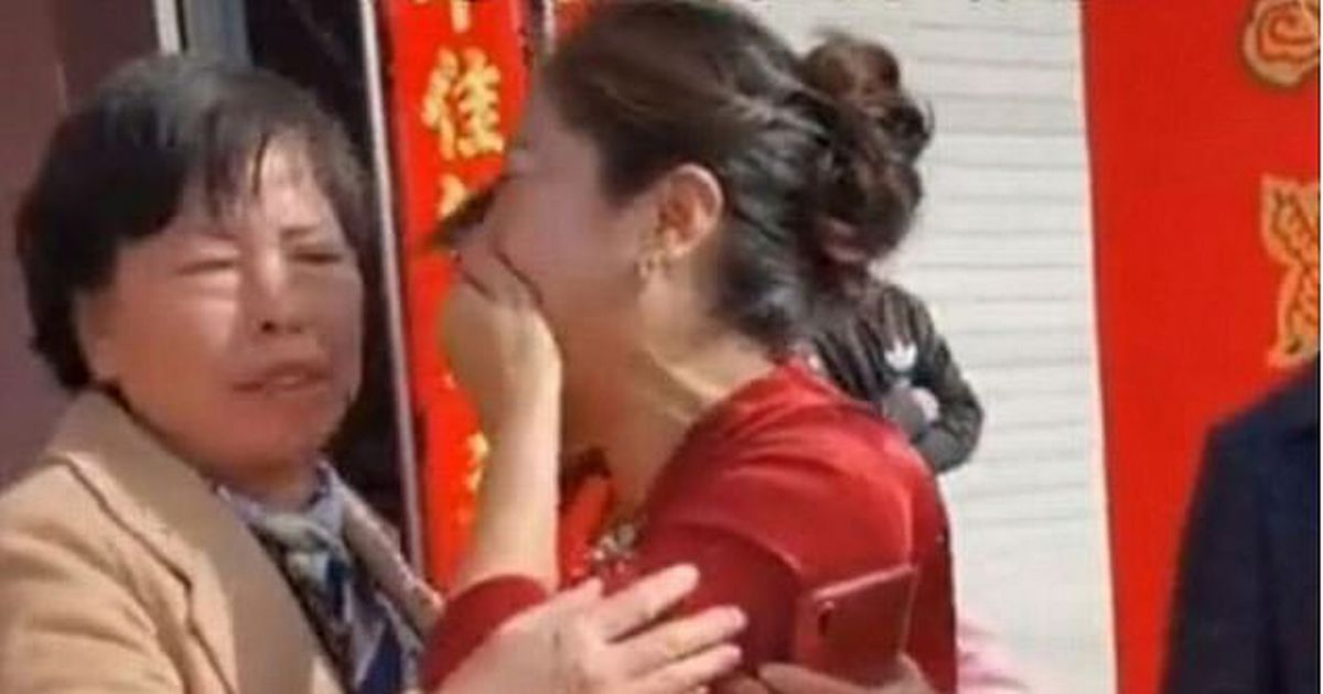 Mum discovers son's bride is her long-lost daughter on their wedding day