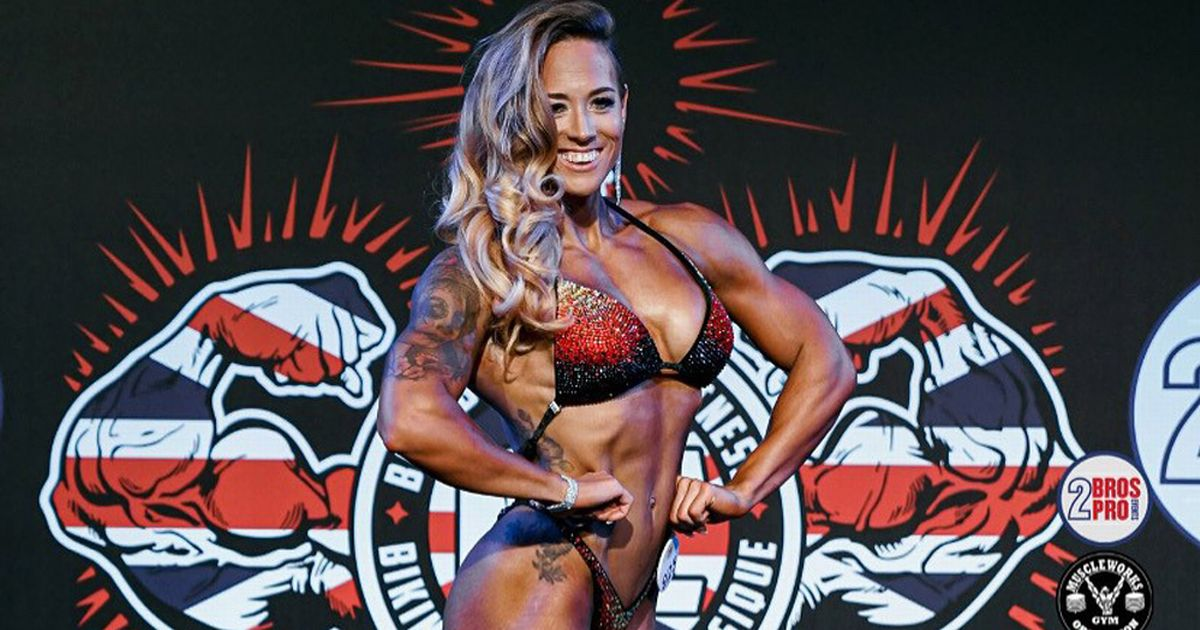 Mum with epilepsy says bodybuilding made her feel like herself again