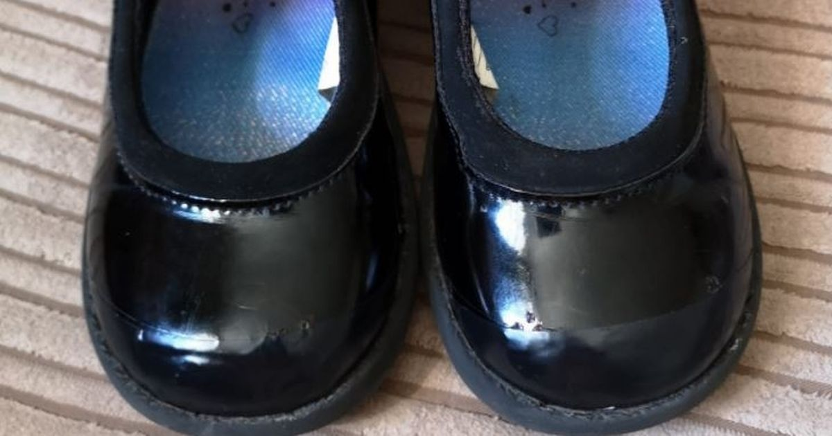 Mum's 89p school shoe trick saves her having to buy new pairs each year