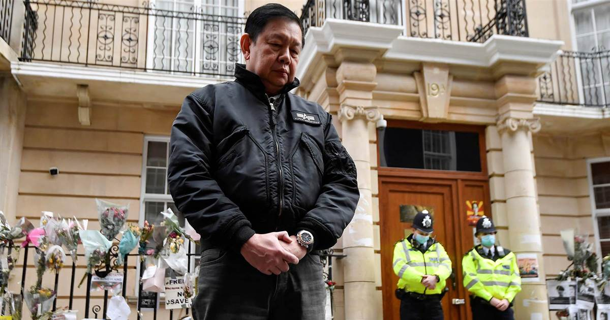 Myanmar's ambassador locked out of his London embassy after criticizing coup