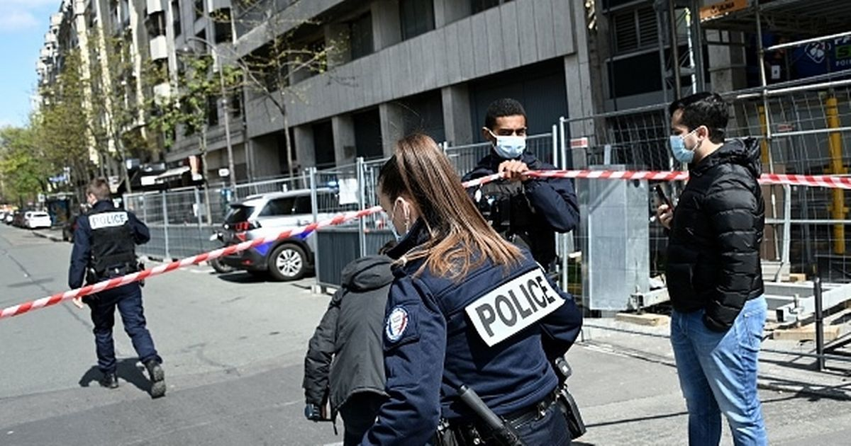 One dead and another injured after gunman opens fire outside Paris hospital