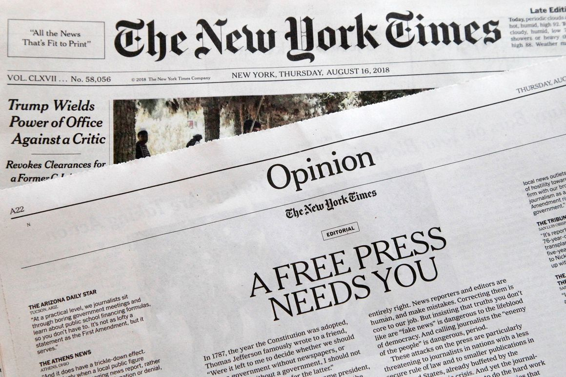 Opinion | The Real Reason the Times Has Quit Using the Term 'Op-Ed'