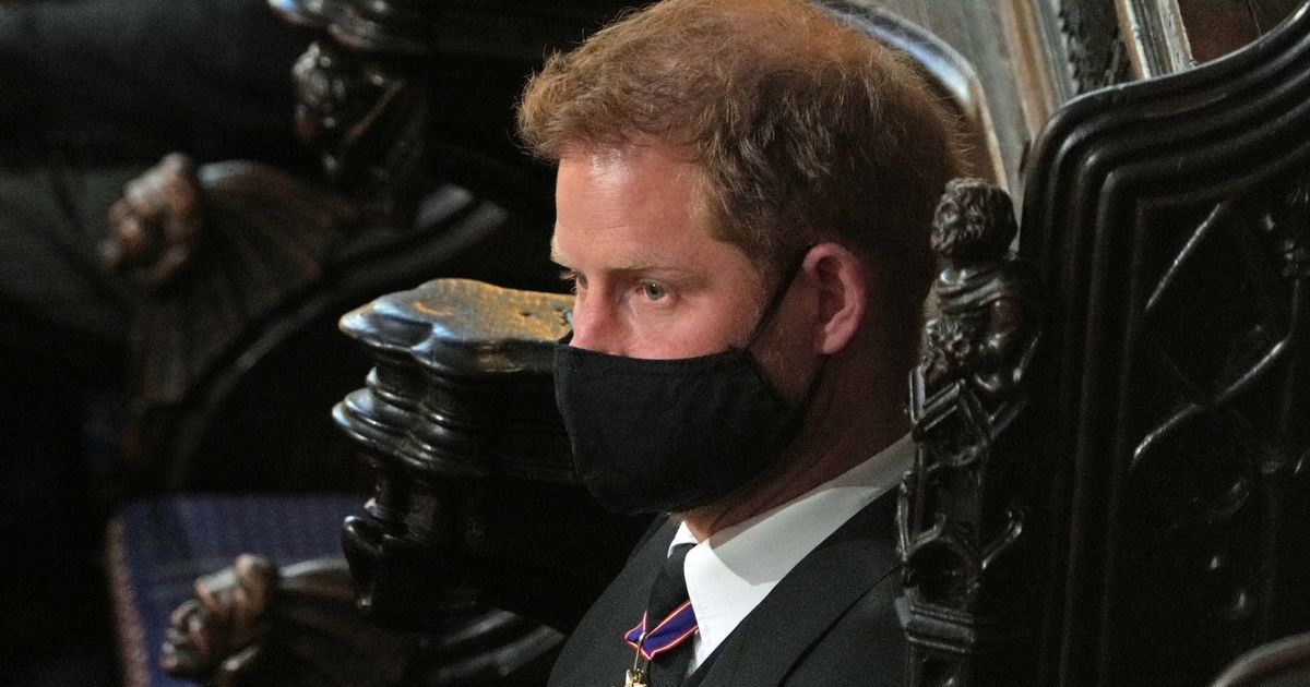 Prince Harry 'still in UK' after grandfather's funeral