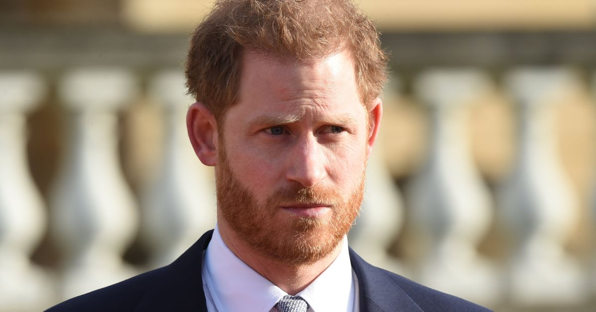 Prince Harry arrives back in the UK ahead of Prince Philip funeral