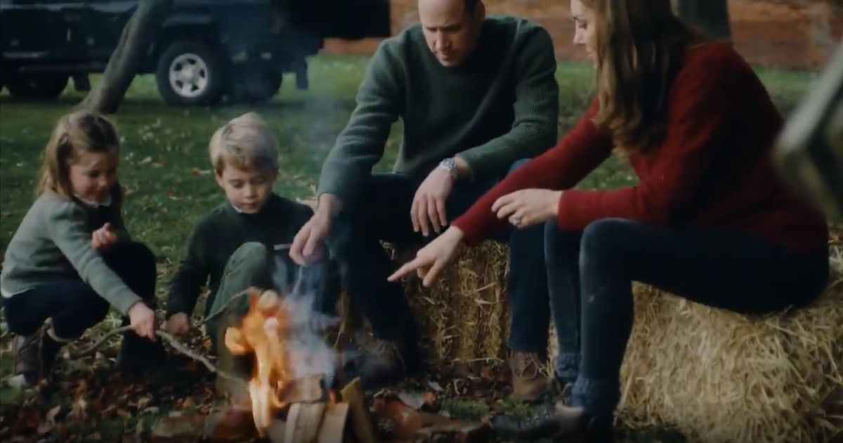 Prince William and Duchess Kate share video of family life