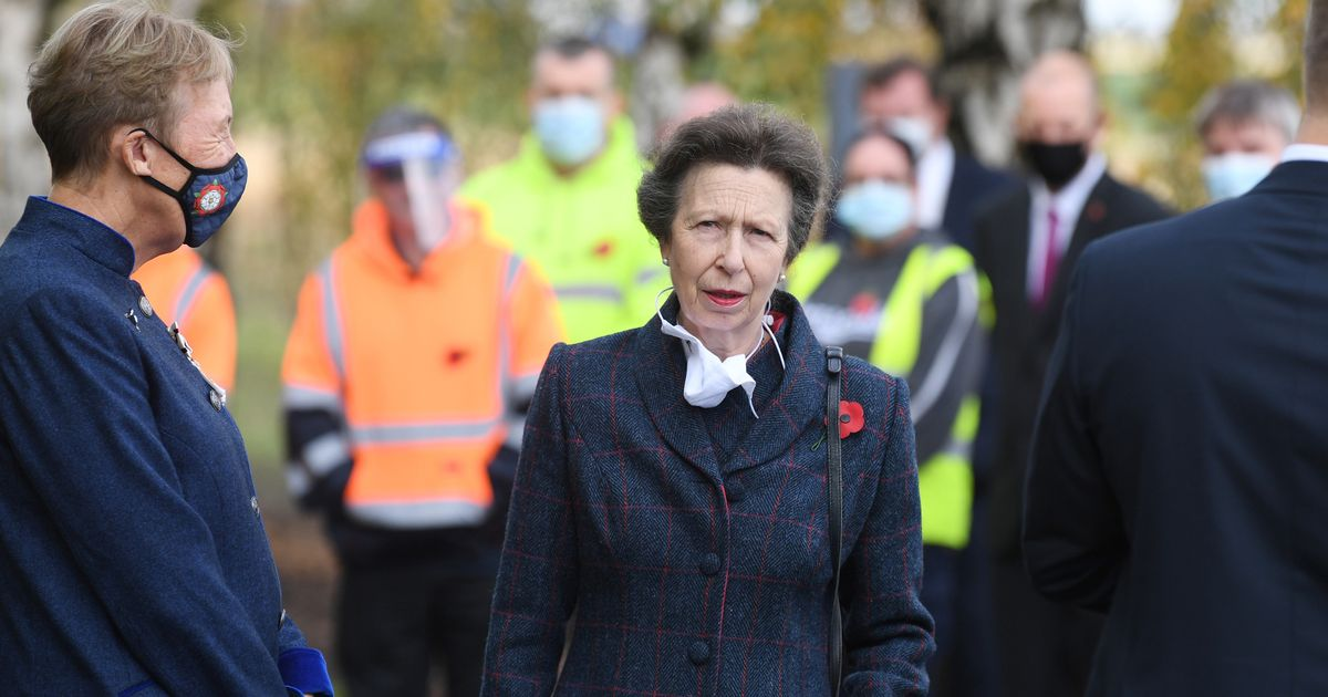Princess Anne admits she wasn't ready for father's death in touching tribute