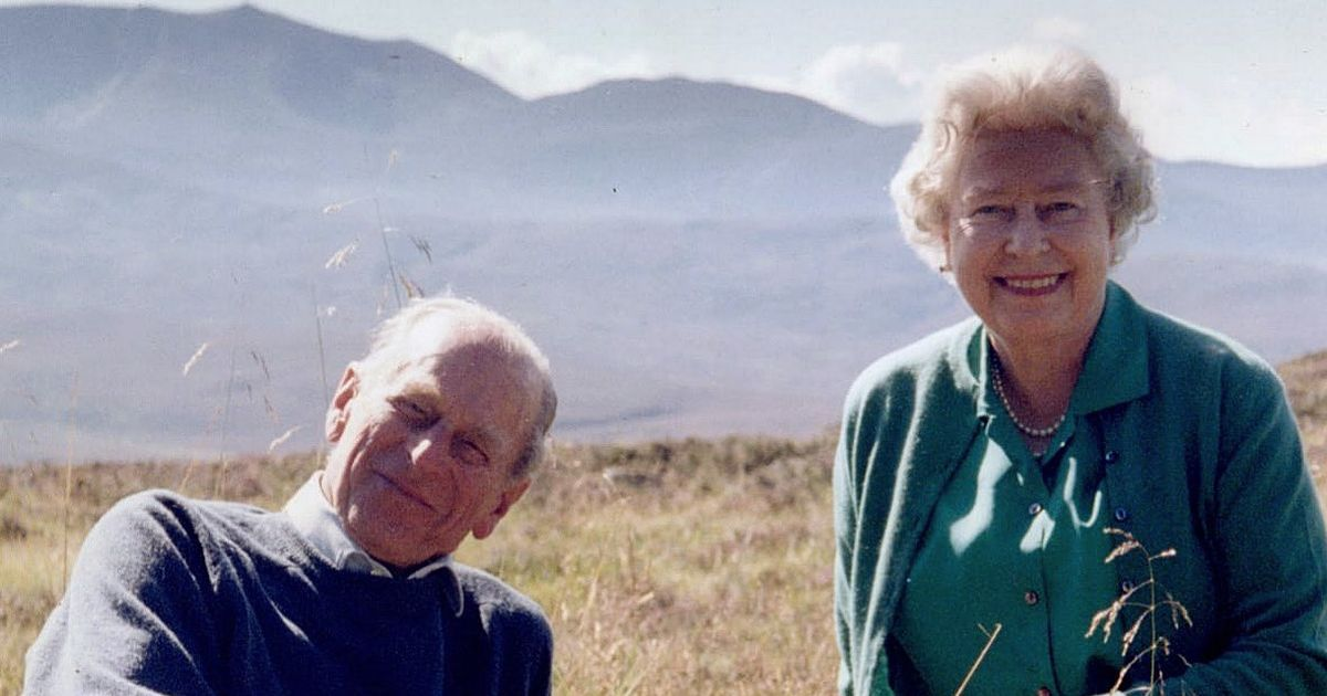 Queen releases 'favourite' picture of her and Prince Philip ahead of funeral