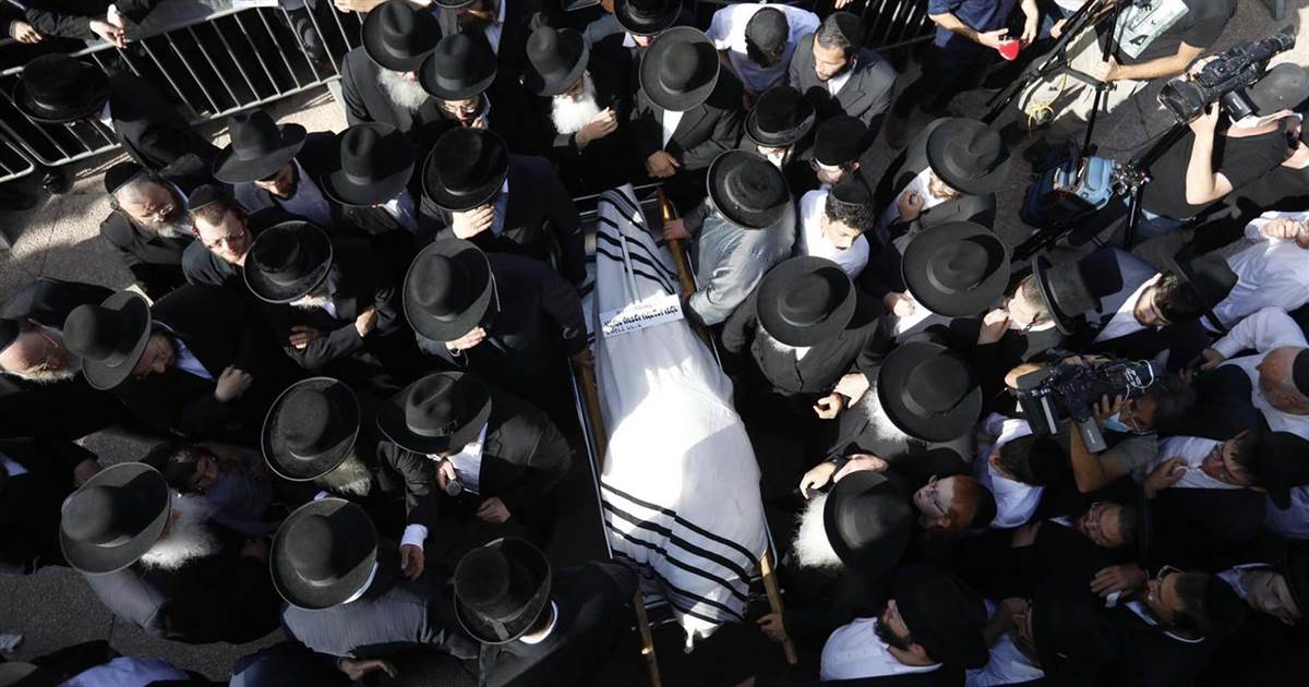 Rabbi laid to rest, paramedic describes scene of Israel stampede
