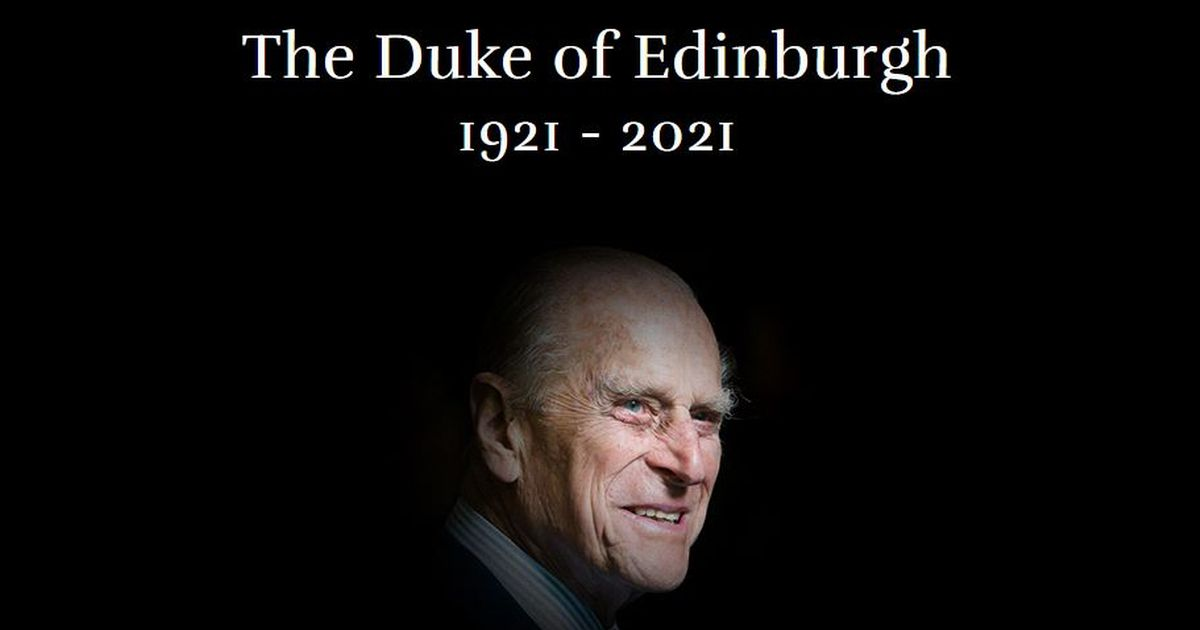 Royal Family's official website switches to page in memory of Duke of Edinburgh