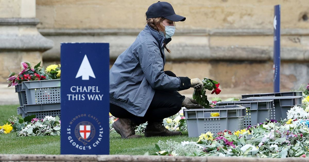 Royal family attend church as Prince Philip is remembered in prayers