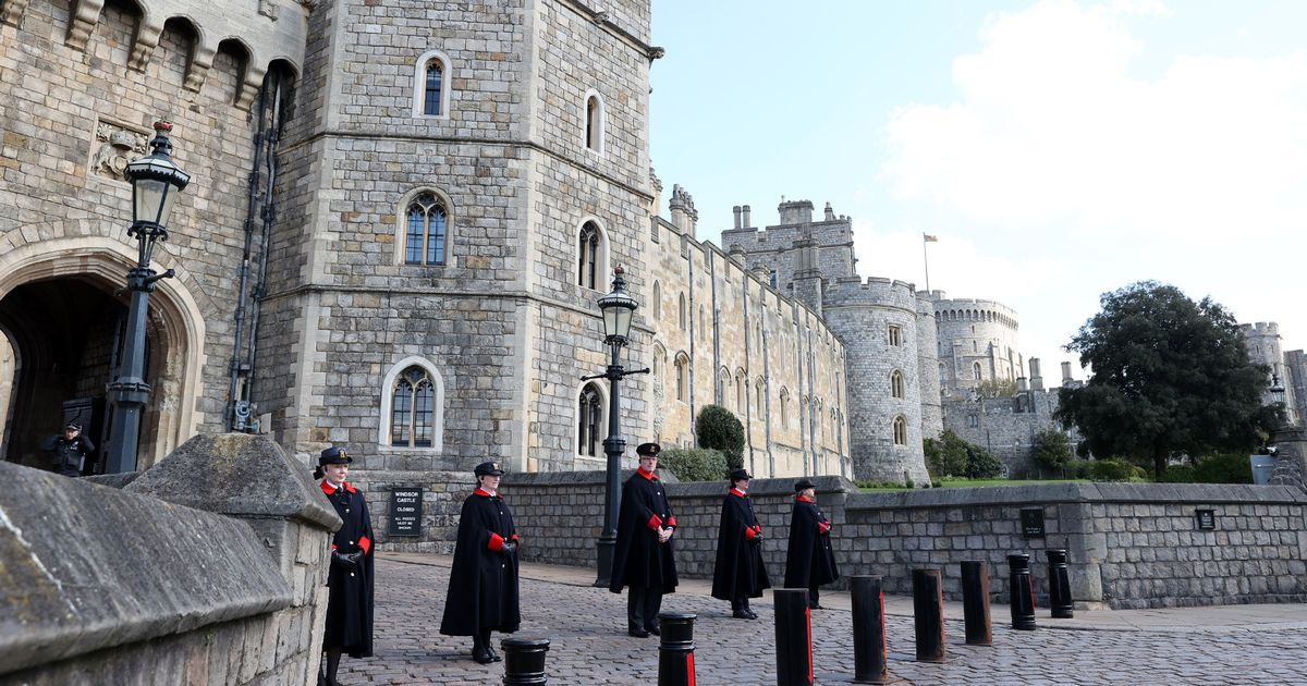 Royal family attend church as the Duke of Edinburgh is remembered in prayers