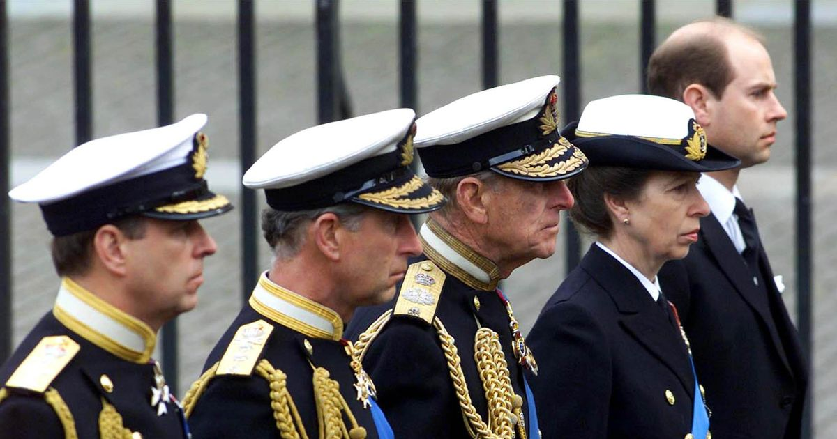 Royal family will not wear military uniforms at Prince Philip's funeral