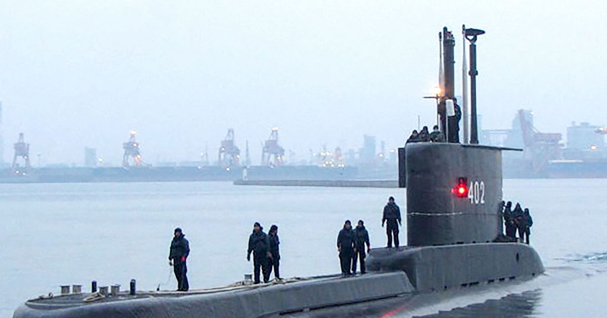 Search for missing Indonesian submarine with 53 crew enters a second day