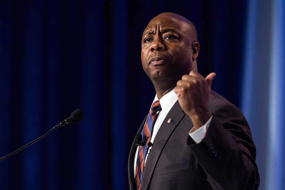 Sen. Tim Scott to meet with George Floyd's family Thursday
