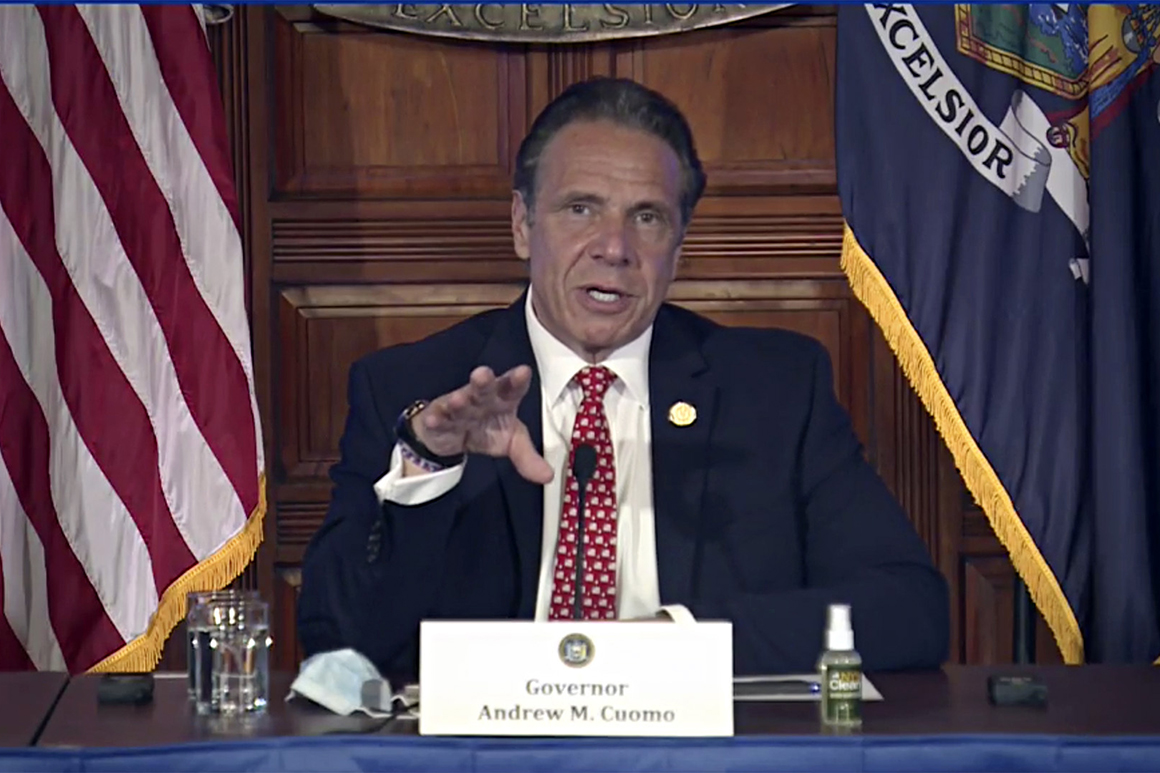 Siena poll: A record number of New Yorkers view Cuomo unfavorably