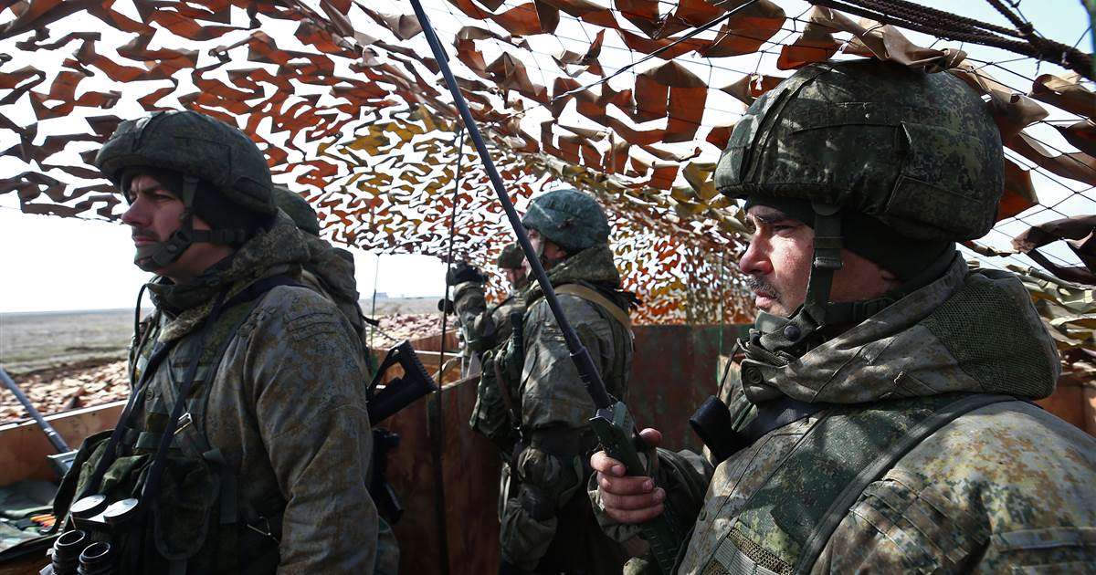 Steady increase in Russian troops in Crimea on Ukraine border, says Pentagon