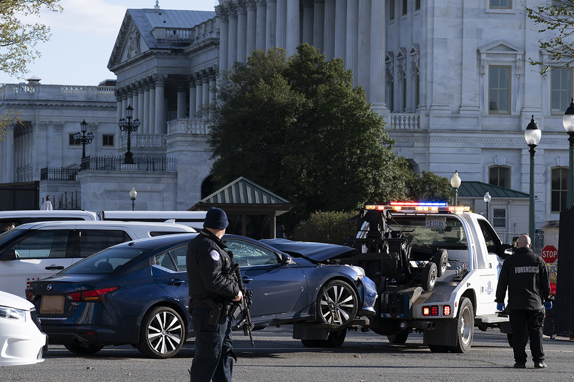 Suspect in Capitol attack suffered delusions, source says
