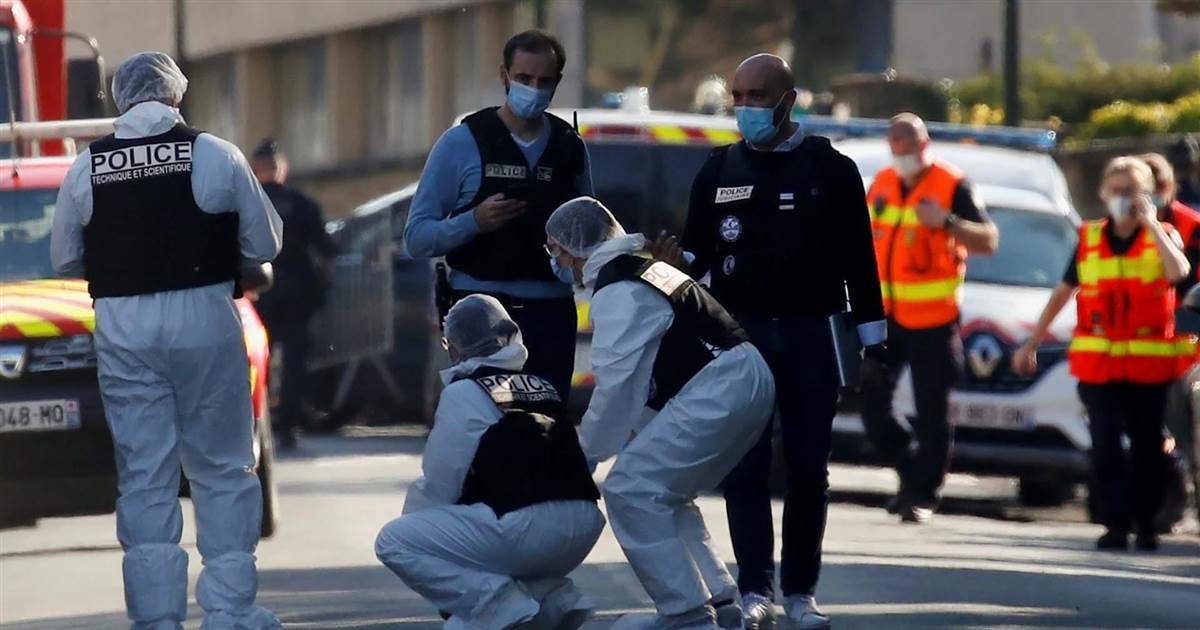 Terrorist motive suspected after French police officer killed