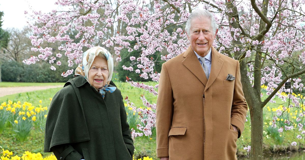 The Queen and Prince Charles 'look sweet but awkward' in rare photograph