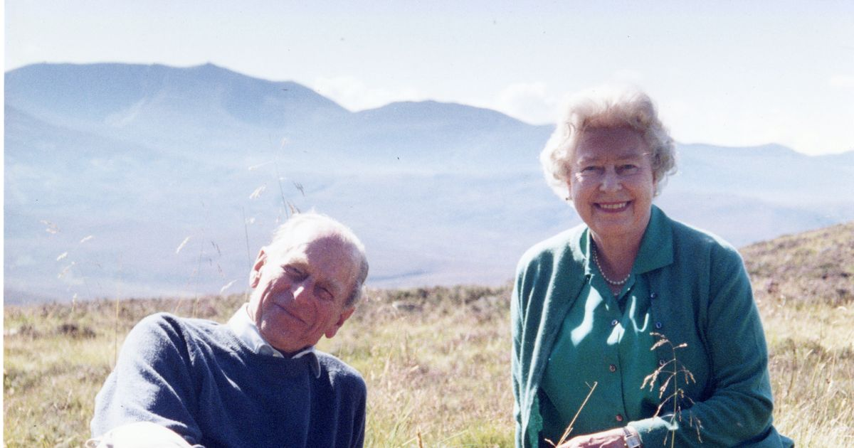 The Queen has shared one of her favourite pictures of herself and Prince Philip