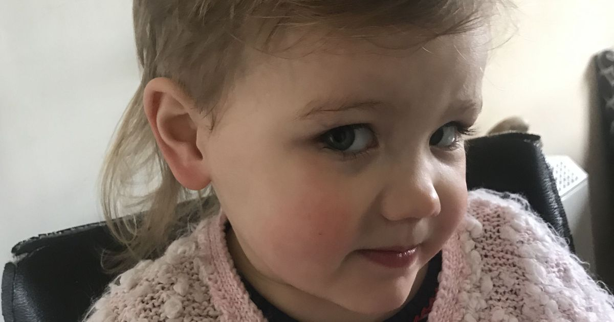 Tot left looking 'like Joe Exotic' after cutting her own hair