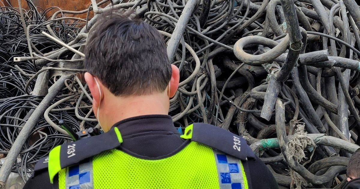 Trains delayed because thieves steal cables for scrap value