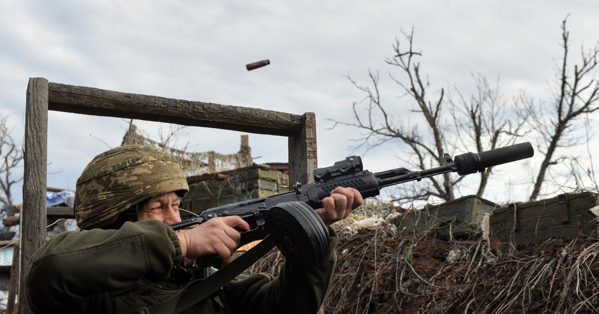 UK forces monitoring Russia's huge military build-up amid fears of Ukraine war