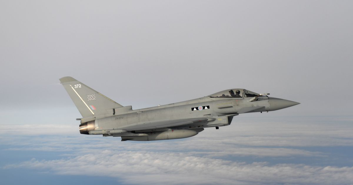 UK issues Russia demand and deploys RAF jets to Black Sea