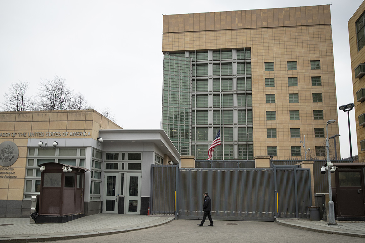 U.S. Embassy limits consular services after Russia hiring ban