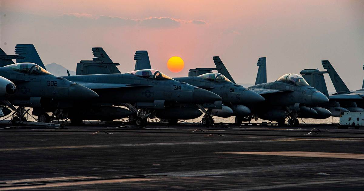 U.S. commanders request aircraft carrier to protect troops withdrawing from Afghanistan, officials say