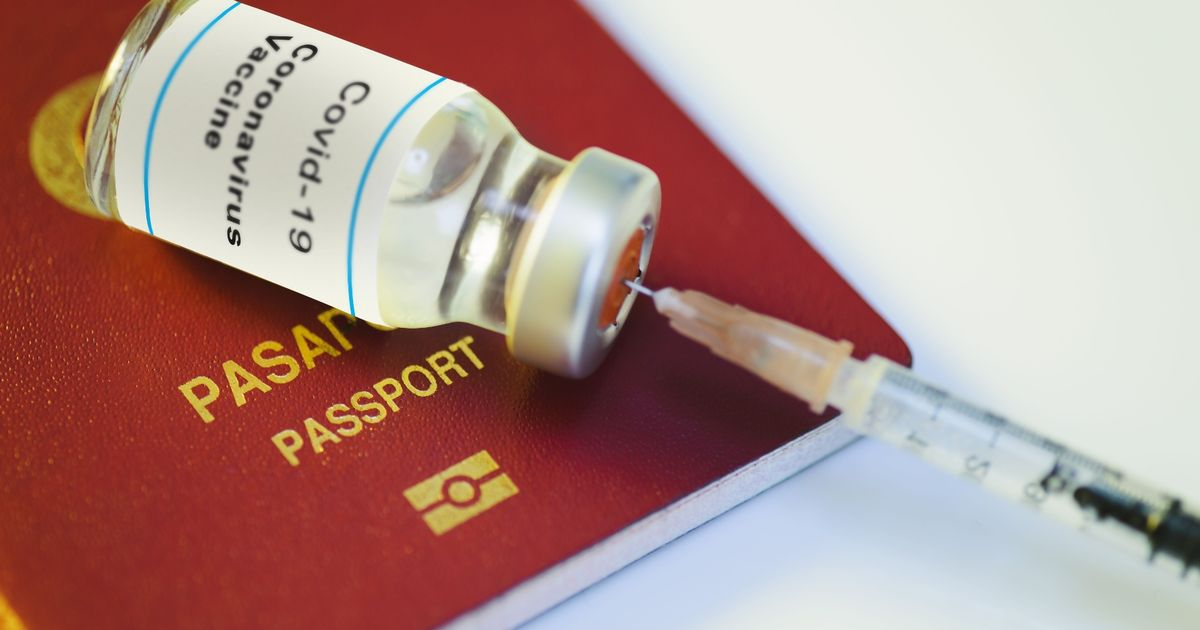 Vaccine passports would be 'nightmare' to put into law, warns expert