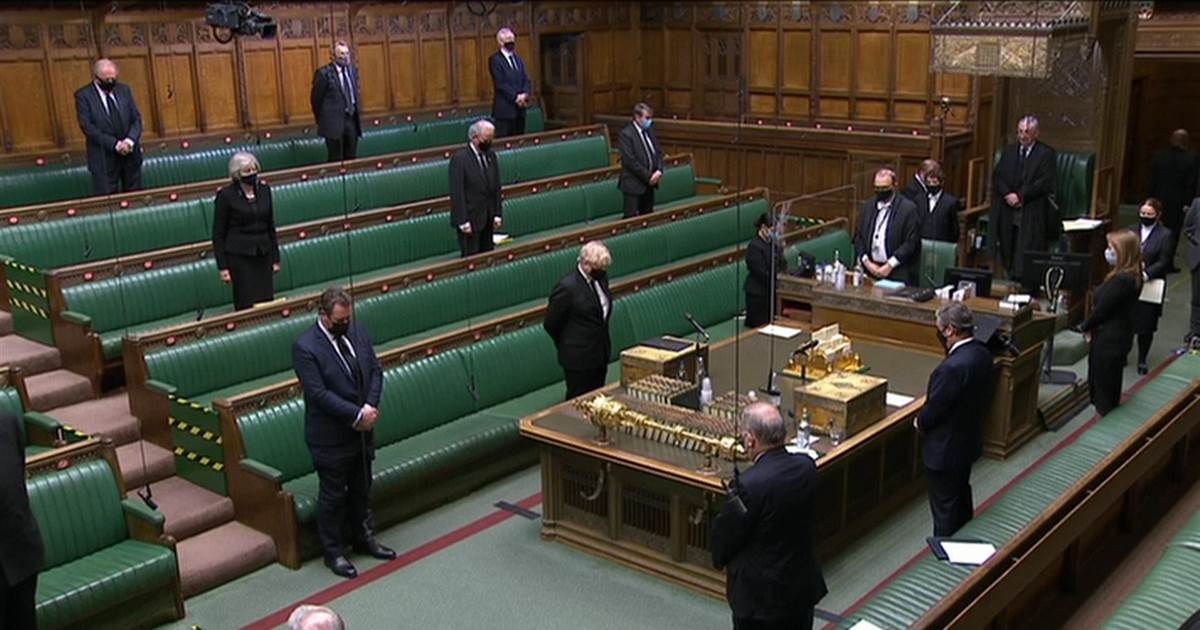 WATCH: U.K. Parliament holds minute of silence for Prince Philip