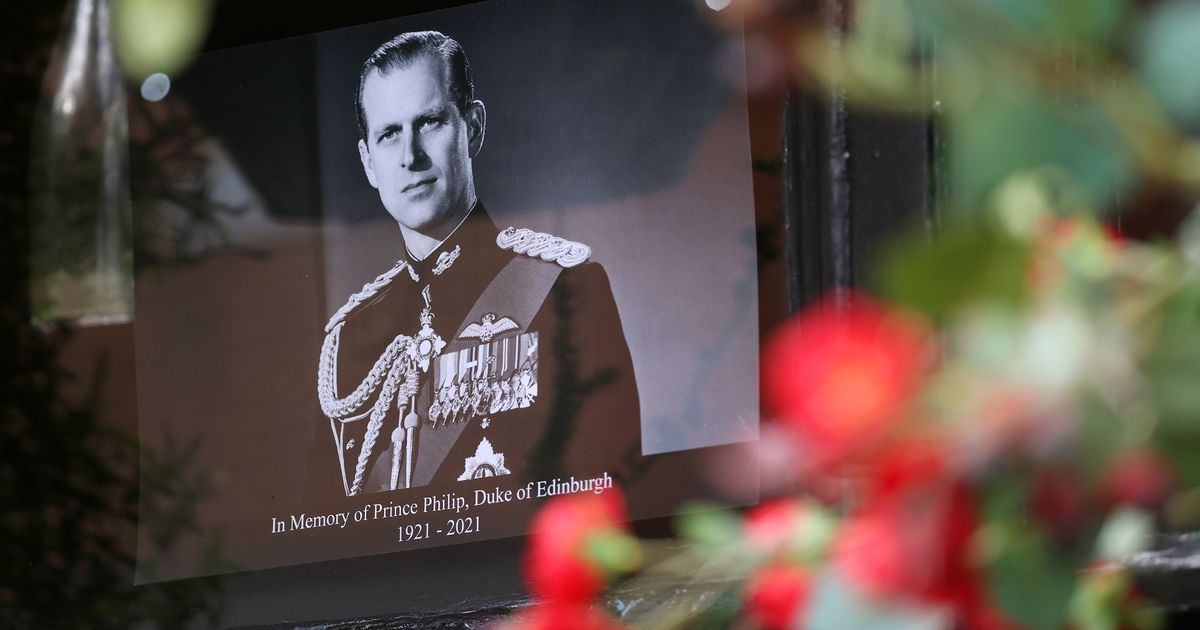 What happens next following the death of the Duke of Edinburgh?