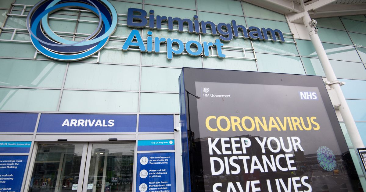 Where you can fly from Birmingham Airport - and latest rules