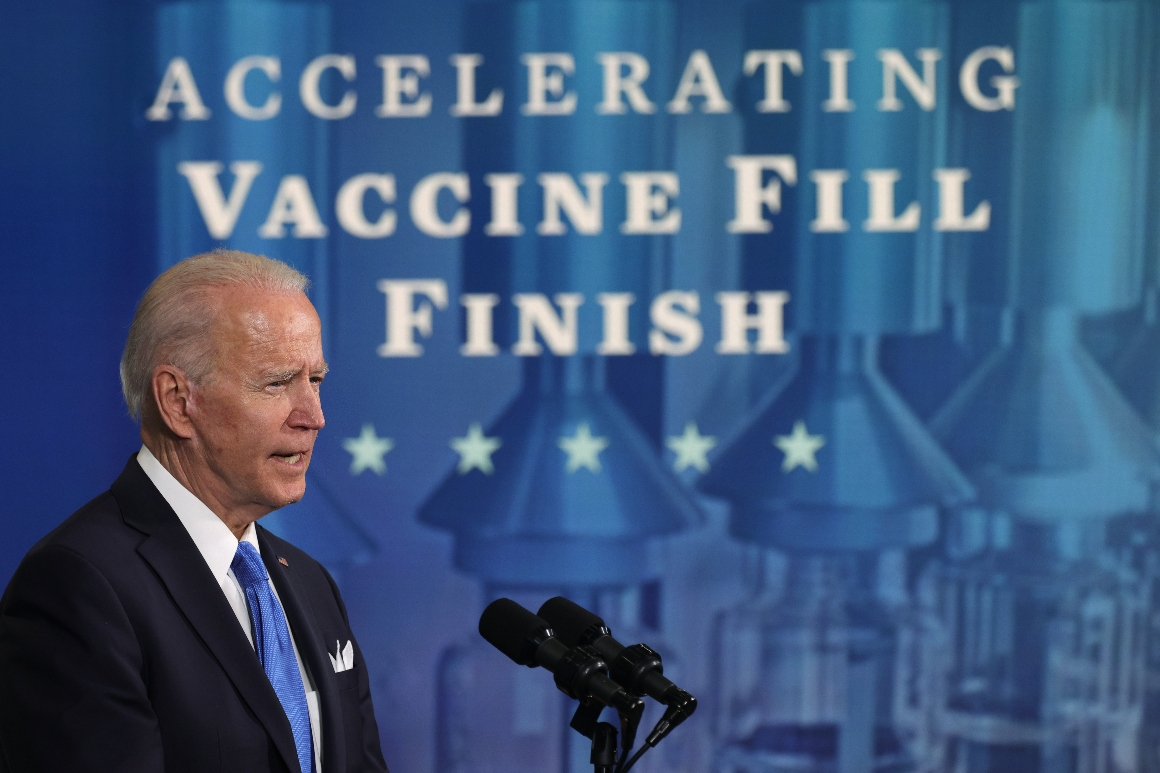 White House writes off Johnson & Johnson vaccine after string of production failures