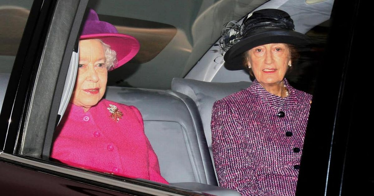 Who is the Lady-in-Waiting accompanying the Queen?