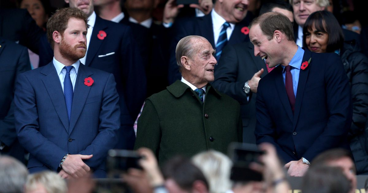 William and Harry shared special bond with Duke
