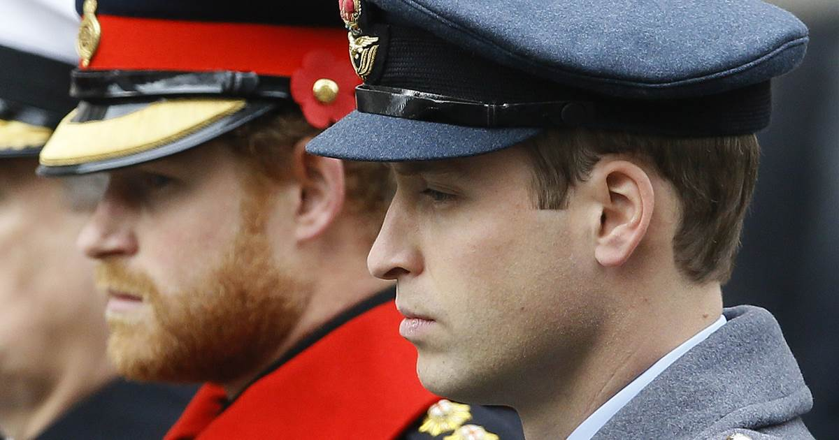 William and Harry will not walk side by side at Prince Philip's funeral