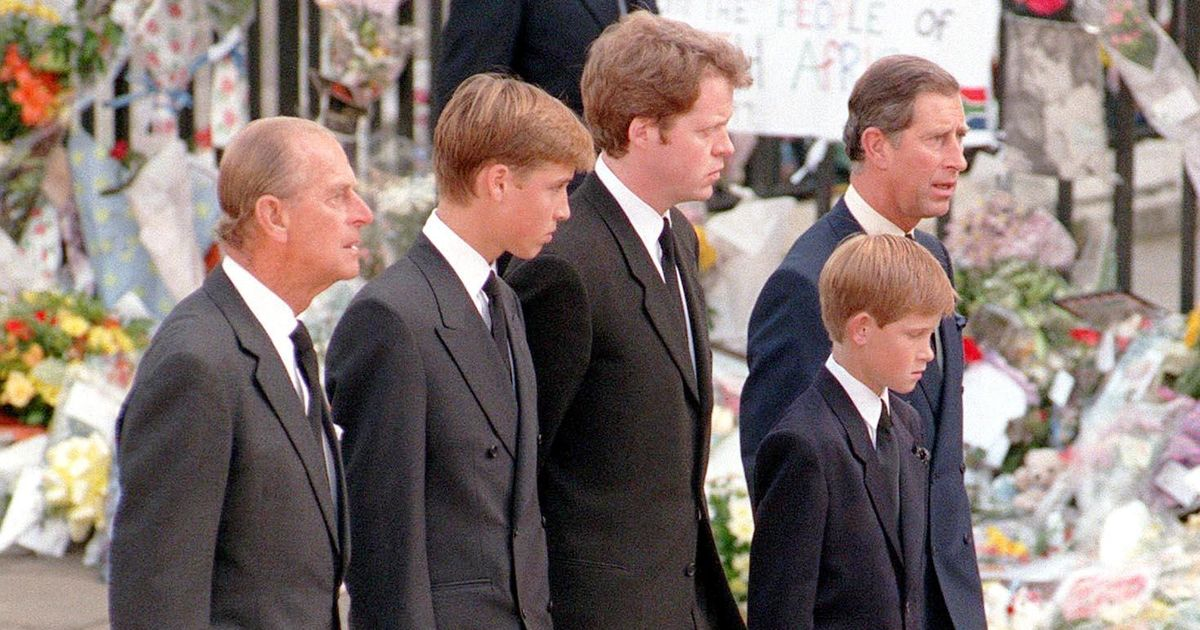 William and Harry's special bond with the Duke of Edinburgh